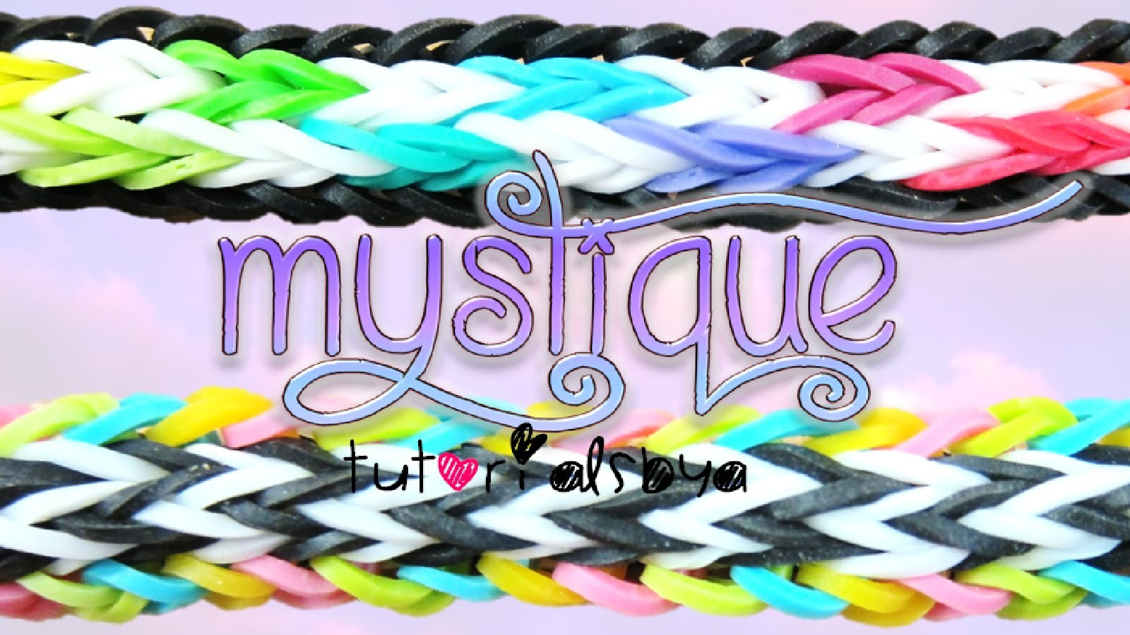 NEW Mystique Rainbow Loom Bracelet Tutorial | How To