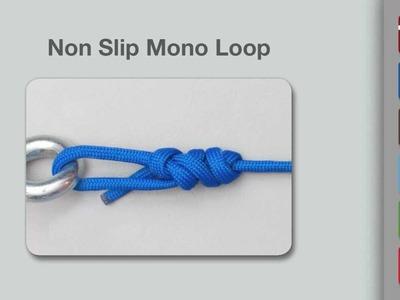 Non-Slip Mono Knot | How to Tie a Non-Slip Mono Knot