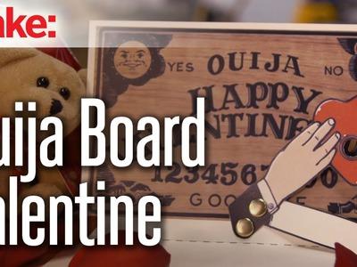 Ouija Board Valentine's Day Card