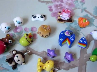Polymer Clay Charm Update #3 - Chibis, Rilakkuma and More!