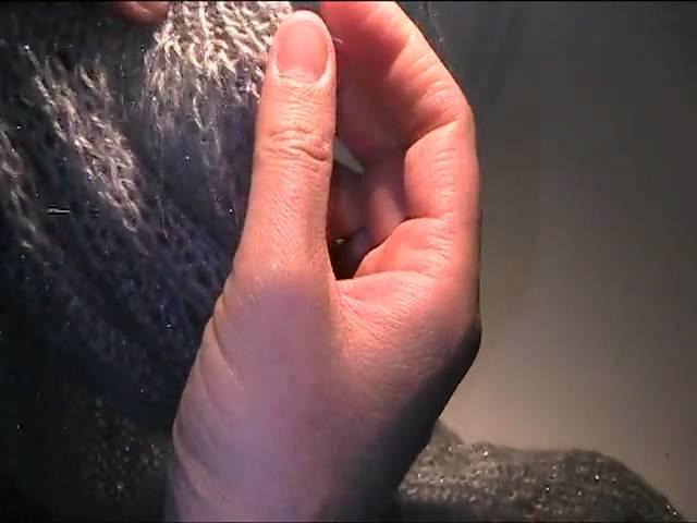 Strick Bolero Video Strickanleitung