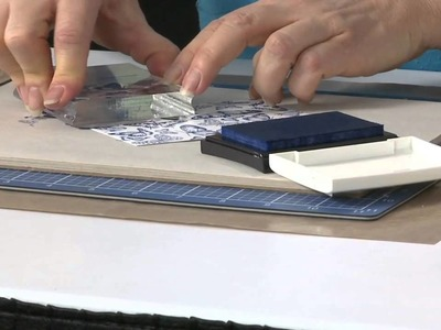 Tip of the Day: Clear Stamp Backgrounds by Stampendous