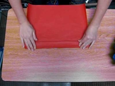 Tissue Puff Ball Step 1