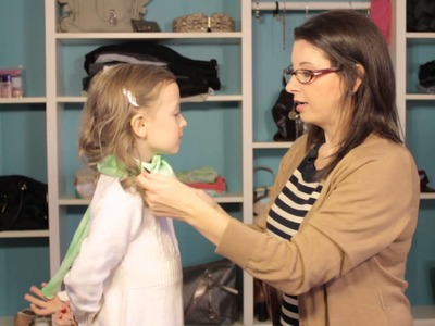 Ways to Wear a Scarf for Kids : Top Trends in Women's Fashion