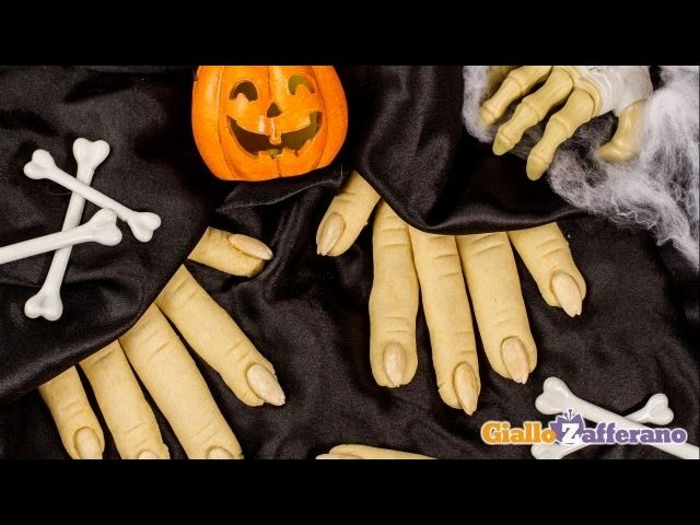 Witch finger cookies - Halloween recipe