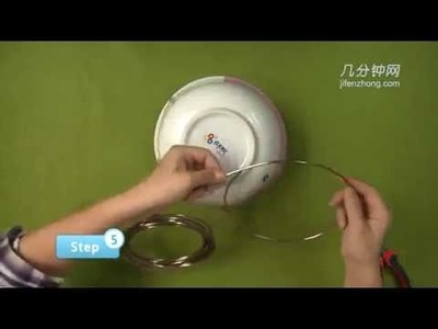 6830 How To Make the Birdcage in Aluminum Wire Manual