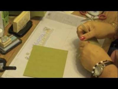 Accordion Card Organizer Part 1