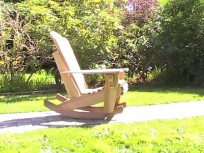 Adirondack rocker in a kit