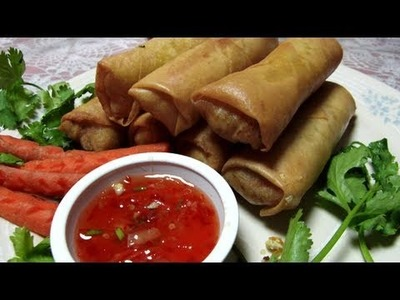Arunee's Kitchen | Egg Rolls - Home Made