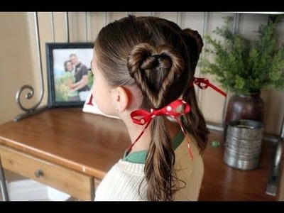 Double Heart Twists | Valentine's Day | Cute Girls Hairstyles
