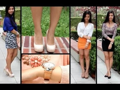 Fashion Styles: 4 Ways to Wear a Body Con Skirt
