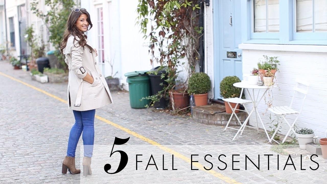 Five (5) Fall Essentials