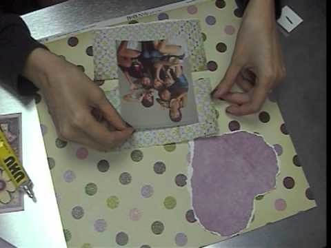 Handmade card tutorial 1