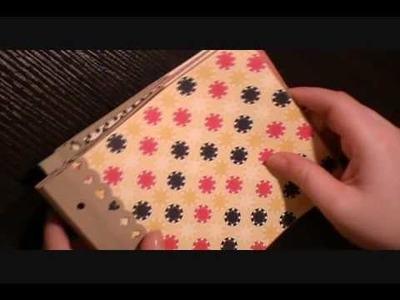 How to Make a Paper bag Album Part 3