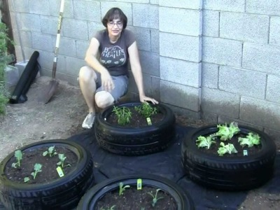 How to Make a Tire Garden