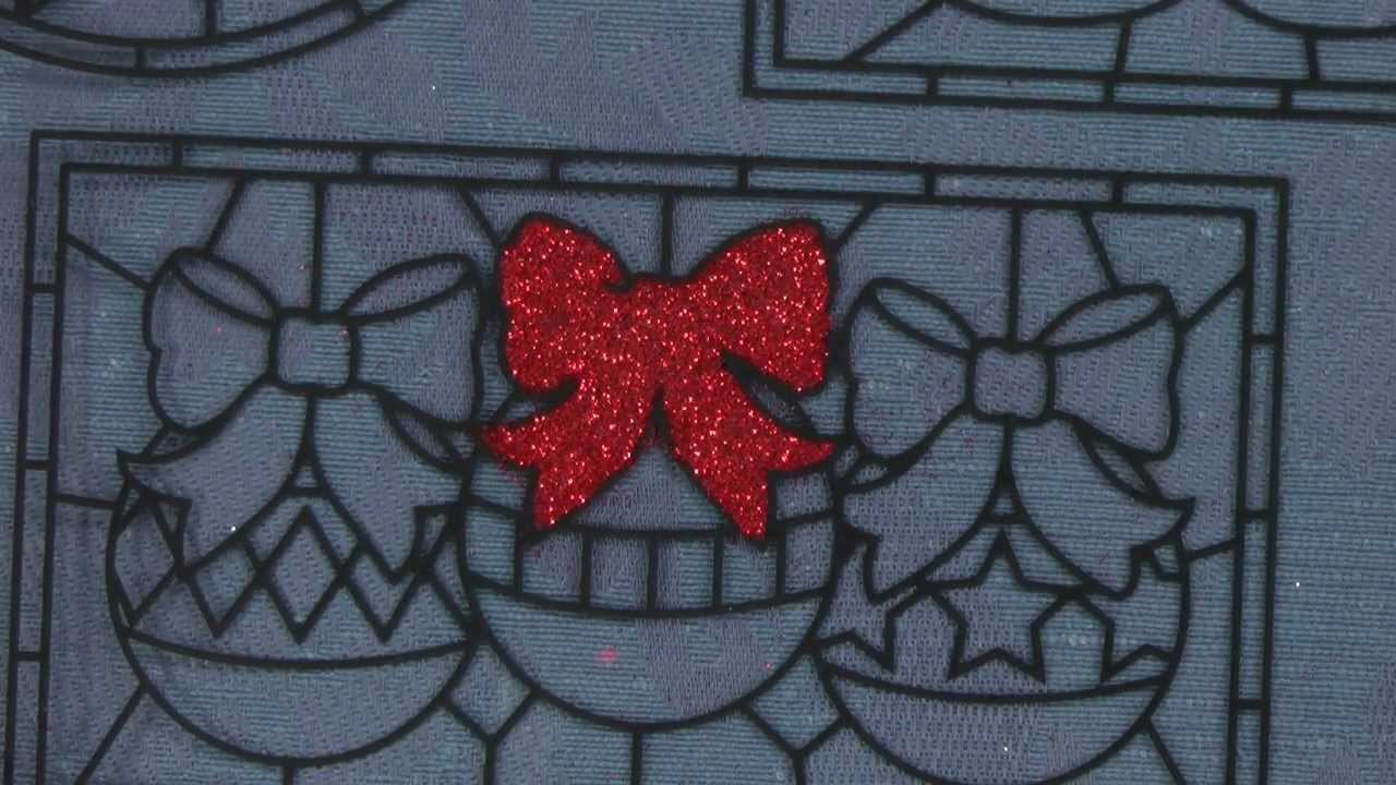 How to Make Glittery Stained Glass for Cards