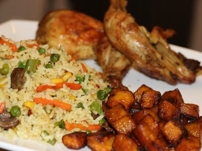 How to make Nigerian Fried Rice | Nigerian food | African Cuisine