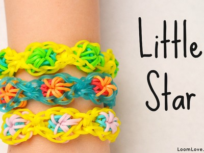 How to Make the Rainbow Loom Little Star