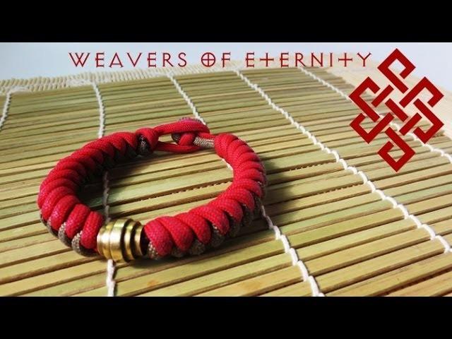 Paracord Snake Knot Bracelet - Alert Bracelet