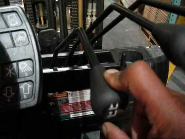 HOW TO WORK A FORKLIFT