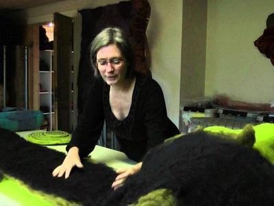 Lene Frantzen - Felt art - Applied arts and design series part 3