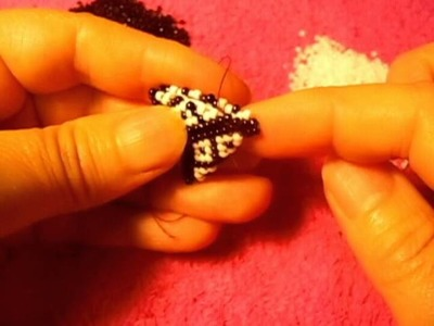 Peyote stitch this is how i make a earring that i learn i hop you like it#1