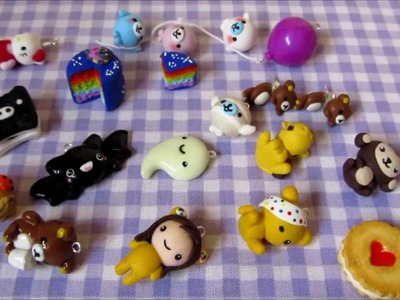 Polymer Clay Charm Update #4 - San-x, Pudsey and More!