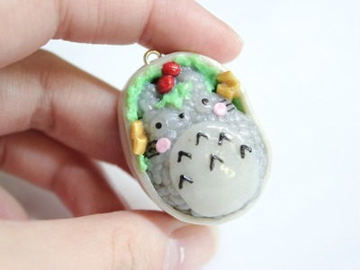 Polymer Clay Totoro Bento Tutorial ft. minicuteclub
