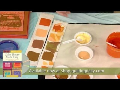 Quilting Arts Workshop: Color Theory Made Easy with Lynn Krawczyk