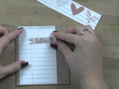 Simple Kraft Paper Handmade Cards