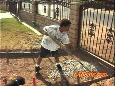The Single Daddy Show - How to build a Concrete Walkway