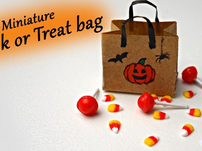 Trick or Treat! Miniature Candy Corn and Lollipops - Polymer Clay Tutorial