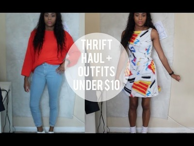 Best Thrift Finds Ever Haul + Outfits Under $10 $20 $100