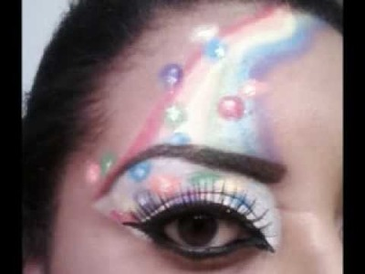 Candy Inspired Makeup Entry For Lucky4ever100