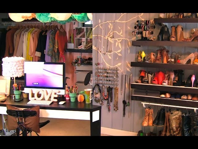 Closet.Office.Vanity Tour!
