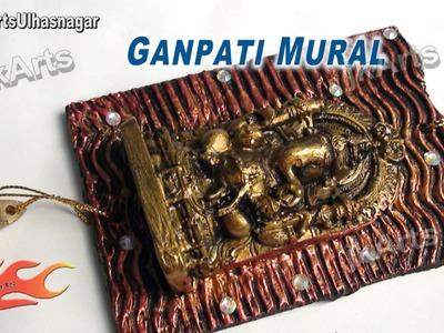 DIY Designer  Ganpati Wall Murals | How to Make | JK Arts 479