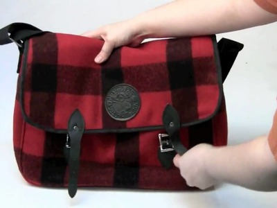 Duluth Pack Wool Laptop Book Bag - Wool Laptop Messenger Bag