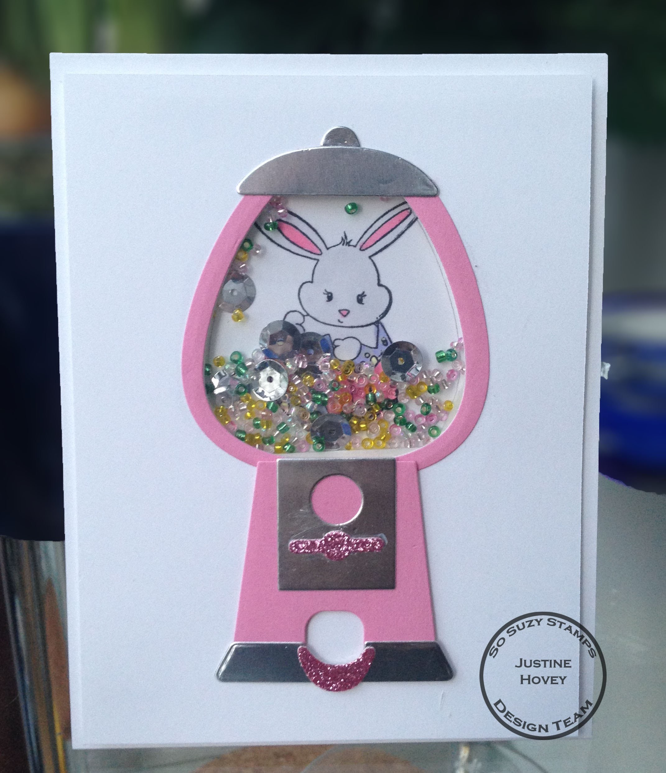 Easter Shaker Card How-to