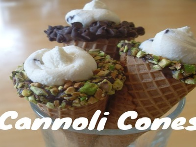 Easy Cannolis ~ Great Idea For Holidays!