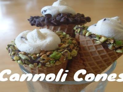 Easy Cannolis ~ Great Idea For Holidays!