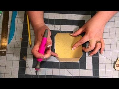 Envelope Punch Board Library Pocket Tutorial