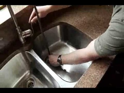 How to Install a Kitchen Faucet Installation Video
