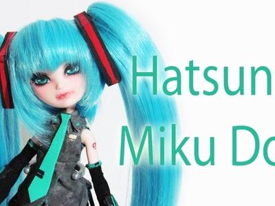 How to make a Hatsune Miku Doll