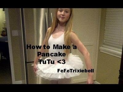 How to Make a Pancake Tutu
