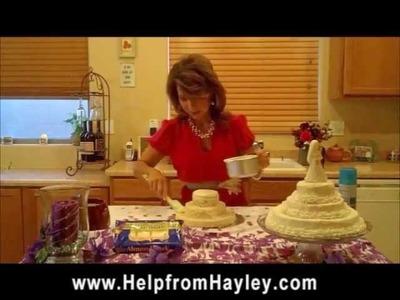 How to Make a Rice Krispie Wedding Cake