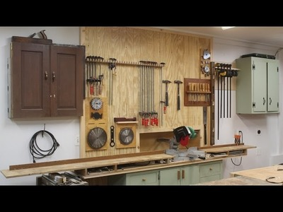 How To Make Clamp Racks & Organize the Shop by Jon Peters