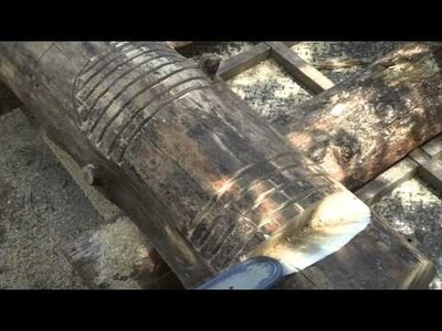 How-to Make King Size Log Furniture by Mitchell Dillman