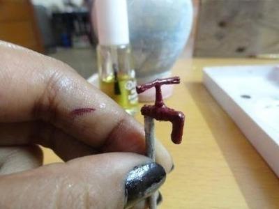 How to make miniature tap