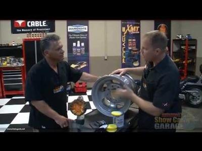 How to polish aluminum wheels to look like chrome
