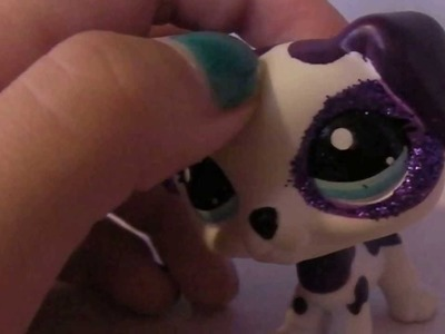 How To Put Glitter on Your Littlest Pet Shop